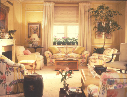 Mario Buatta Inc New York City Interior Designers Decorators